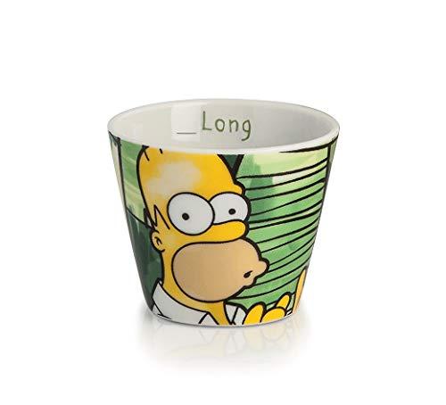 Egan PTS83/2V Kaffeebecher, Modell Homer, Porzellan, mehrfarbig, 2 Stück