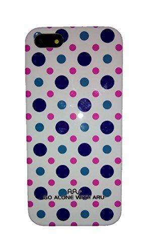 B-MOBILE Funda ARU con Diseño para iPhone SE / 5 / 5S