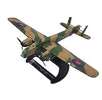 1/144スケールファイタープラモデル、ミリタリーホイットニーMk.V重爆撃機大人の収集品とギフト、7.1インチX6.1インチ