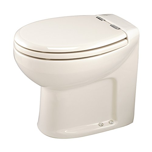 Thetford Tecma Silence Plus 38120 WC-Garnitur mit Wasserpumpe, 2 Modi, 12 V, mit Knochen