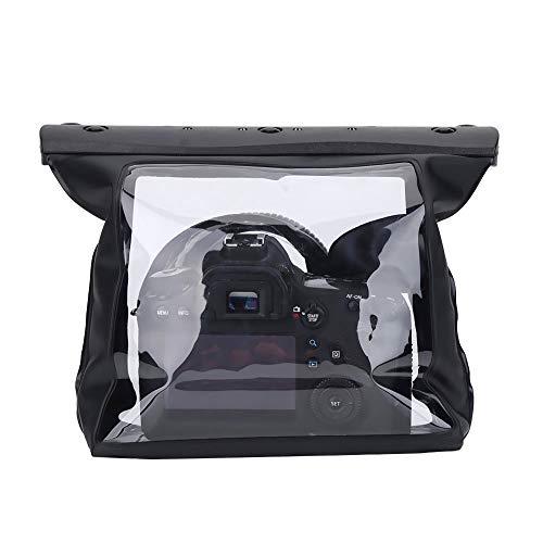VBESTLIFE Custodia Subacquea Impermeabile Copertura Antipioggia per Fotocamera Reflex Canon DSLR