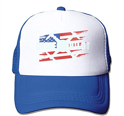 Gaoxiang Unisex Drone Pilot USA Flag2 Two Tone Trucker Hat Mesh Ball Cap - The Great Outdoors...