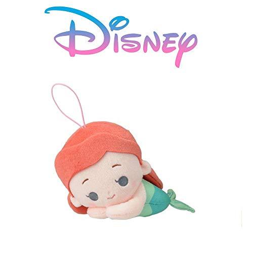 Japan de Peluche Princesas Disney 15cm Ariel La Sirenita Sebastian Durmiente 1