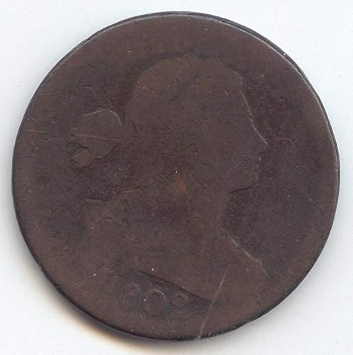 1802 Draped Bust Large Cent About Good