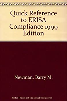 Paperback A Quick Reference to ERISA Compliance 1999 Book