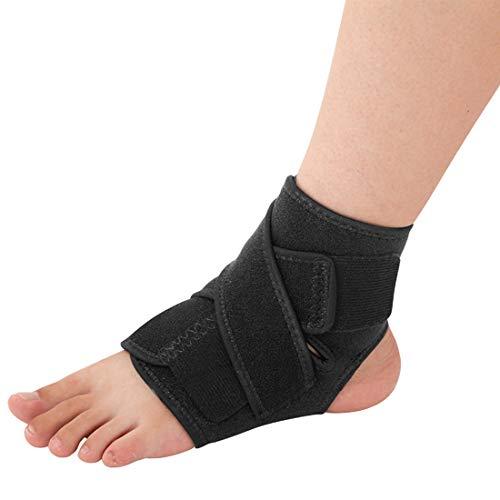 Knöchel-Kompressionsmanschette, verstellbare Riemen, Knöchelbandage, Kompressionsstütze, Sport-Bandage, Socke, elastische Wickel für Plantarfasziitis, Achillessehnenentzündung Erholung