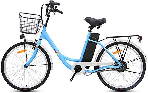 Bicicletas Eléctricas, Bicicletas eléctricas for adultos, de 24 pulgadas bicicleta eléctrica 250W...