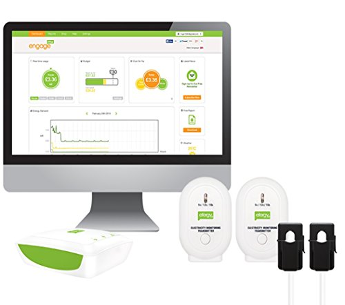 Efergy Engage Solar Kit - Monitor Energía Fotovoltaica