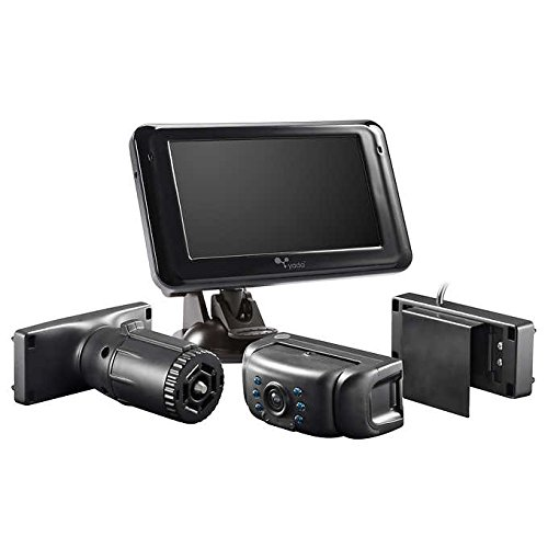 Yada Winplus Flex Mount Backup Camera with 5' Display and 3 Universal Mounts