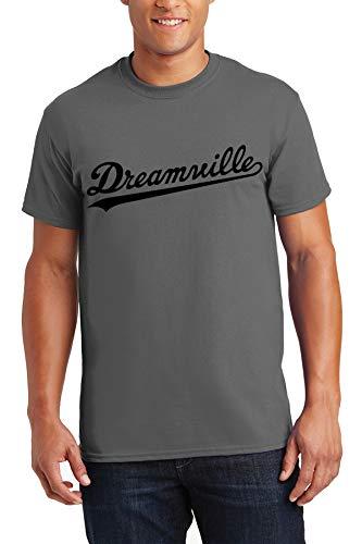Men's Shirt Dreamville T Shirt J Cole Hip Hop T-Shirt L Charcoal