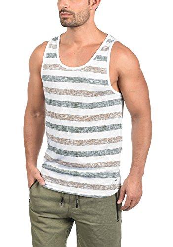 !Solid Mende Herren Tank Top Mit Rundhalsausschnitt Regular Fit, Größe:L, Farbe:Cinnamon (5056)