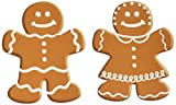 Beistle 10-Pack Mini Gingerbread Cutouts for Parties, 5-Inch