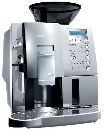 WIK 9751D Vollautomatische Kaffee-, Espresso- und Cappuccino-Maschine/silber
