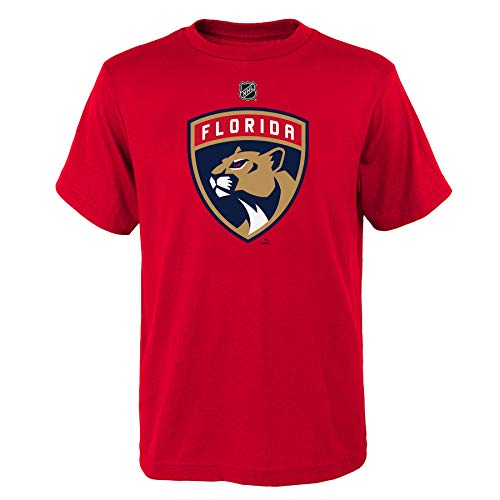 OuterStuff NHL Kinder T-Shirt Florida Panthers Youth Primary Logo Eishockey (L (14/16))