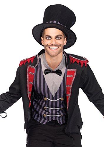 Leg Avenue mens Sinister Ring Master Adult Sized Costumes, Multi, Medium Large US