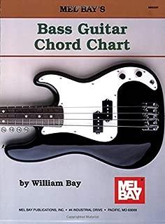 4 string bass chords chart
