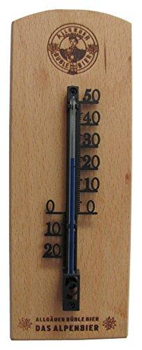 Allgäuer Brauhaus - Original Büble Holzthermometer