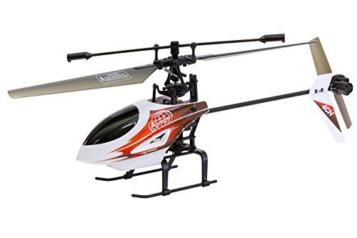 XciteRC 13010000–Flybar 290E Easy Single Blade–4Canal RTF Helicóptero