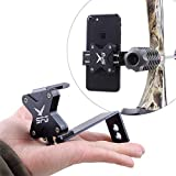 Ace Hunter Bow Mount Arrow Mobile Phone Holder Bracket for Archery Hunting Photos and Video Moment Recorder