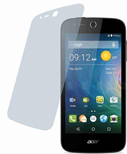 4ProTec I 2X Crystal Clear klar Schutzfolie für Acer Liquid Z320 Premium Bildschirmschutzfolie Displayschutzfolie Schutzhülle Bildschirmschutz Bildschirmfolie Folie