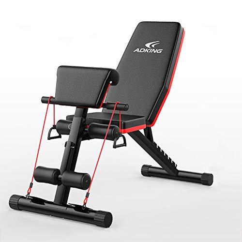 HECHEN Panca Manubrio-Fit di Sit-Up Attrezzature Fitness-Professional Uomo Casa Multi-Funzione Fitness Chair Addominale Bordo-Flying Bird Panchina