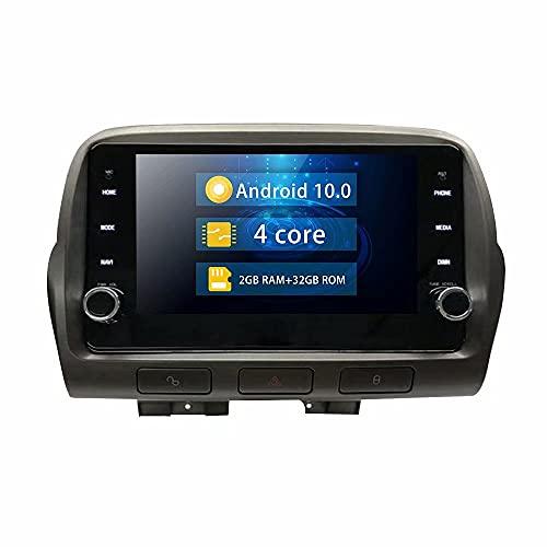 ROADYAKO 1Din Single DIN 8Inch Car Center Multiemdai con navegación GPS para Chevrolet Camaro 2010 2011 2012 2013 2014 2015 Android 10.0 Auto Radio Stereo Head Unti 4G WiFi RDS SWC FM SWC