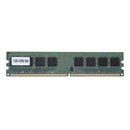 Redxiao DDR2-Speicher, 1 GB, 240-polig, praktisch, universell, langlebig, voll kompatibel für Notebooks, Desktop-PCs, Laptop-Computer, Motherboards, dedizierter Arbeitsspeicher, RAM