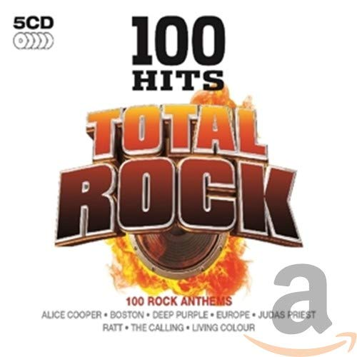 100 Hits-Total Rock (5 CD) [Import Allemand]