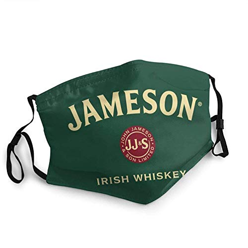 My Hero Academia Men Women Face Masks with Filter Reusable disposable Balaclava Made in USA St. Patrick's Day Easter decor Jameson Irish Whiskey