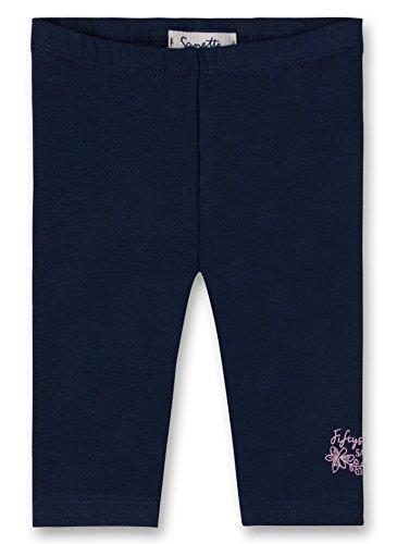 Sanetta Baby-Mädchen Leggins Leggings, Blau (Deep Blue 5993.0), 74