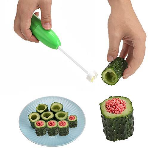 JYSLI Comfort - Juego de 4 cortadores en espiral de diferentes tamaños para verduras, herramienta de cocina