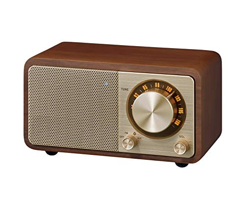 Sangean WR-7GW Wood Cabinet Mini Bluetooth Speaker with FM Tuner and Aux-inSpecial Edition Color...