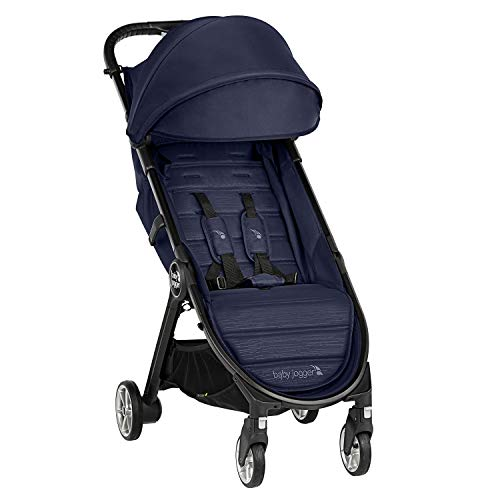 Baby Jogger City Tour 2 Travel Pushchair | Lightweight, Foldable and Portable Stroller | Seacrest (Navy)