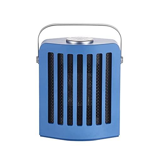 OUMIFA Calentador de Espacio Calentador portátil Aire Acondicionado inalámbrico eléctrico Tres velocidades Calefacción y refrigeración Oficina de Escritorio de Doble propósito Calefactor Portátil