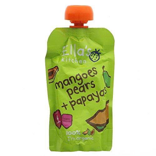 Ella's Kitchen Papayas, Mangoes & Pears Stage 1 120g