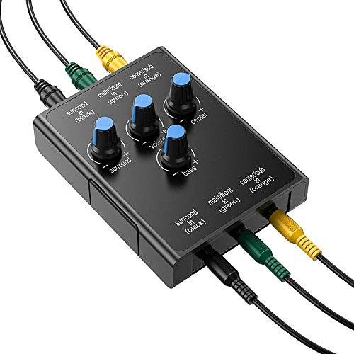 YUHUA ELE Ersatz Control Pod für Logitech Z-5500 Post636 Computer Lautsprecher (mit Subwoofer Kabel)