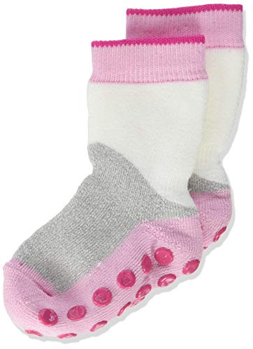 Falke Baby Block Calcetines, Rosa (Marshmallow 8448), 95 (Talla del fabricante: 80-92) para Bebés