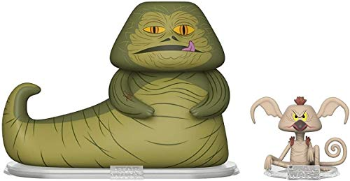 Funko Vynl Hutt & Salacious Figuras de Vinilo Star Wars Jabba The Hutt + Salacious Crumb, Multicolor (31850)