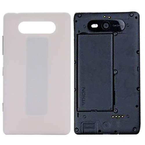 DaMaiXsell Back Cover for Nokia Lumia 820 (Nero) (Color : White)
