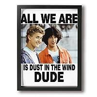 絵画 ポスター 30 * 40 Cm All We Are Is Dust In The Wind Dude ポスター おしゃれ インテリア 壁掛け モダン 油絵風景画 アート おしゃれ な部屋飾り ギフト キャンバスアート アート油画 パネル ャンバス モダンフレーム