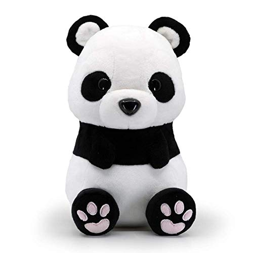 Bellzi Panda Bear Cute Stuffed Animal Plush Toy - Adorable Soft Black and White Bear Toy Plushies and Gifts - Perfect Present for Kids, Babies, Toddlers - Pandi