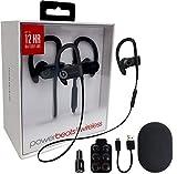 Beats by Dr. Powerbeats3 Wireless Earphones -Black & USB & Ear Gel (Renewed)