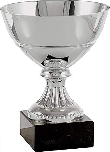 Art-Trophies TP199 Trofeo Ensaladera Lisa, Plata, 12 cm