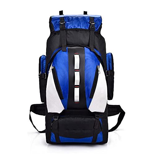 Mochila multifuncional de senderismo de 90 L, gran capacidad de viaje, mochila para adultos para actividades al aire libre, senderismo, camping, deportes, cómoda espalda acolchada