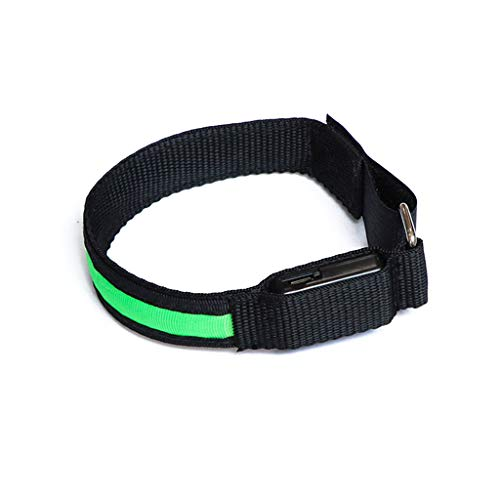 N/A/ Pulsera de seguridad para deportes al aire libre con carga USB, para ciclismo, advertencia y brillo