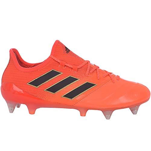 adidas Performance–Ace 17.1Leather SG Scarpe da Calcio Uomo–Arancione, Orange, 8.5
