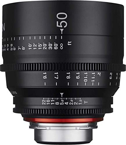 Samyang XEEN - Objetivo (50 mm, T1.5 FF, Cine Canon)