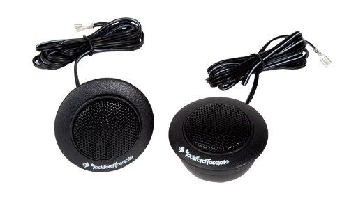 "4) Rockford Fosgate R1T-S 1"" 160 Watts Component Car Audio Tweeters System Kit"