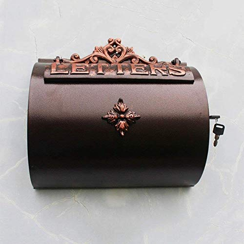 Brievenbus Tuin Villa Home Decoratie Wandmontage Postbus Aluminium Letter Box Postvak Boek Doos Postbus Beveiligingsmailbox