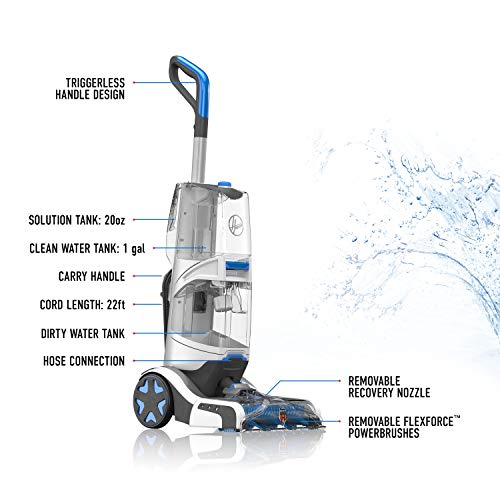 Hoover FH52001 Smartwash Automatic Upright Carpet Cleaner